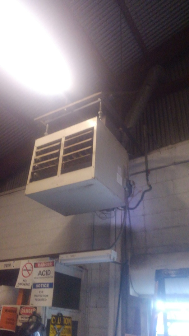 Did service call on wall heater.
