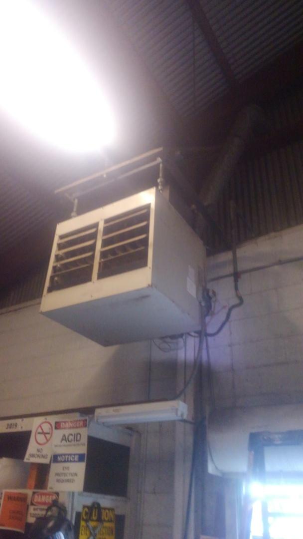 Eunice, LA - Did service call on wall heater.