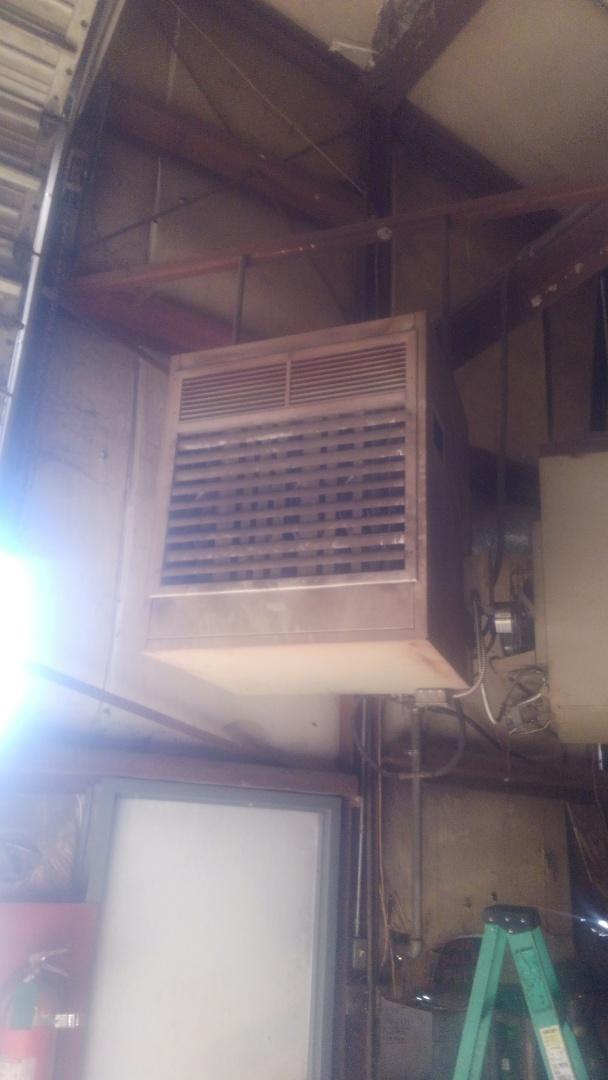 Did service call on Lennox wall heater lite pilot and run heater.