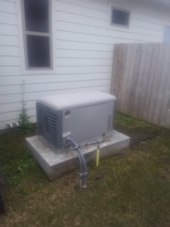 Lafayette, LA - Did yearly generator maintenance. thanks.
