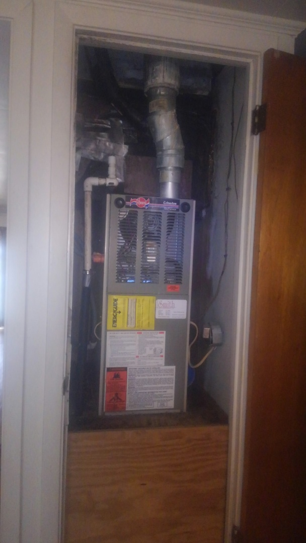 Eunice, LA - Did heating tune up on ruud system.