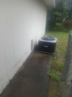 Eunice, LA - Did service call on carrier unit and check out cooling system and all ok.