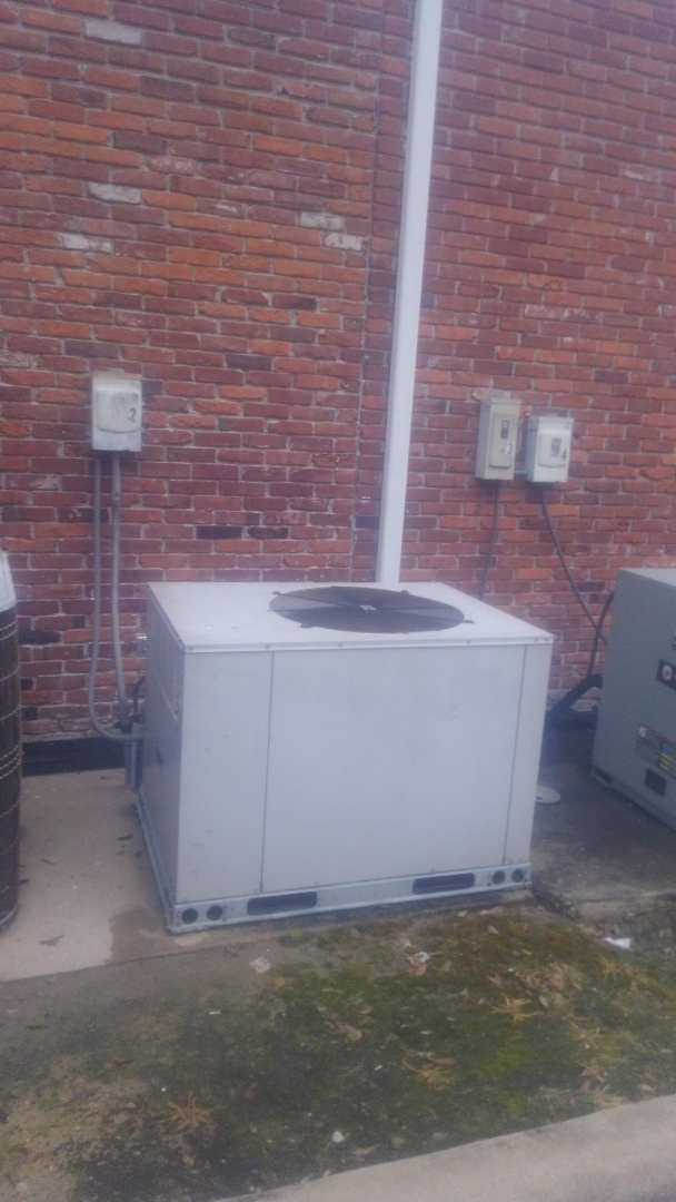 Ville Platte, LA - Did service call on trand system and has bad compressor price out new unit.