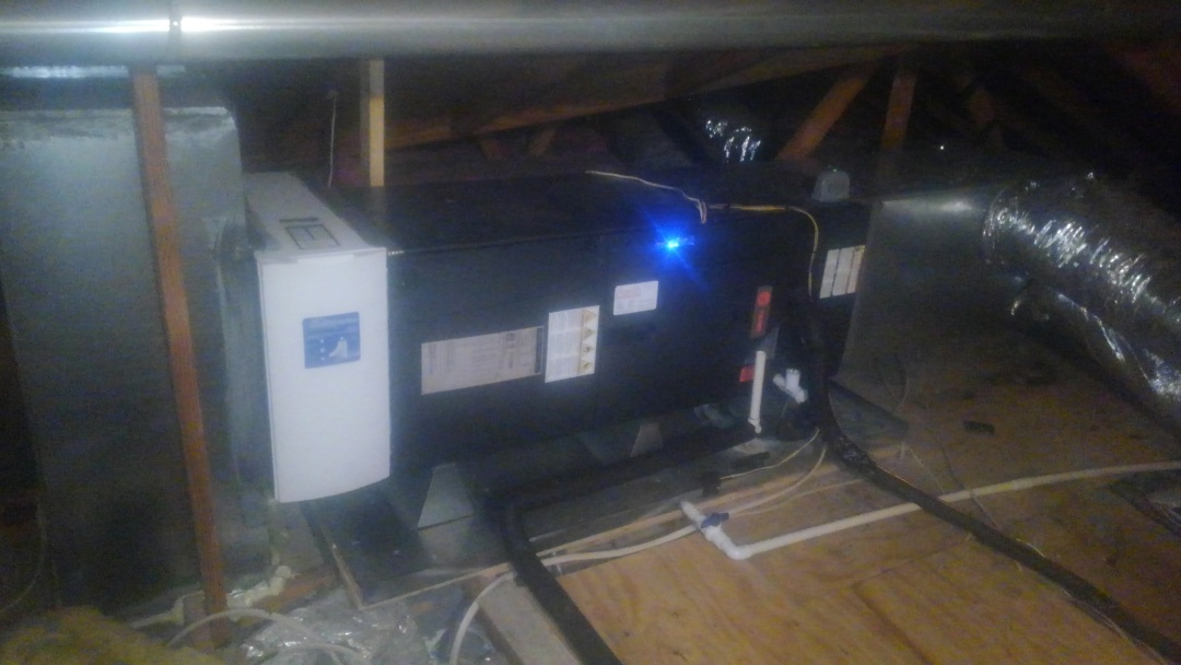 Ville Platte, LA - Did service call on trand system and added frenon and replace filter.