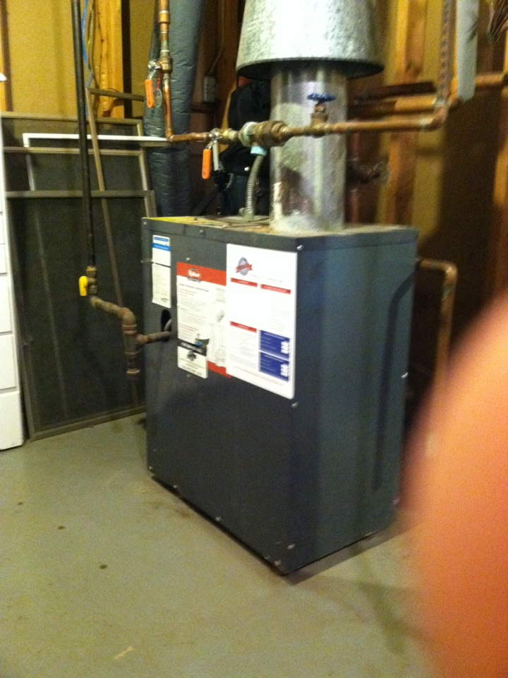 Plymouth, MN - Heating service on Weil-McLain boiler