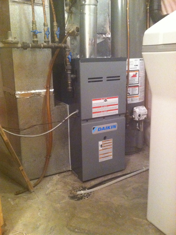 Prior Lake, MN - Install Daikin furnace