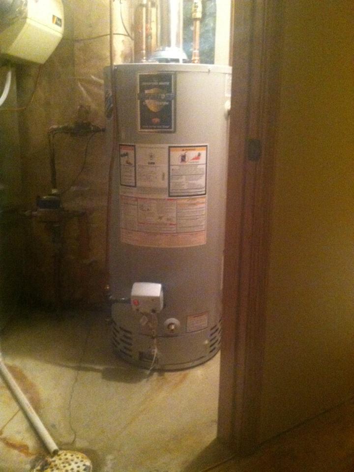 Prior Lake, MN - Water heater installation