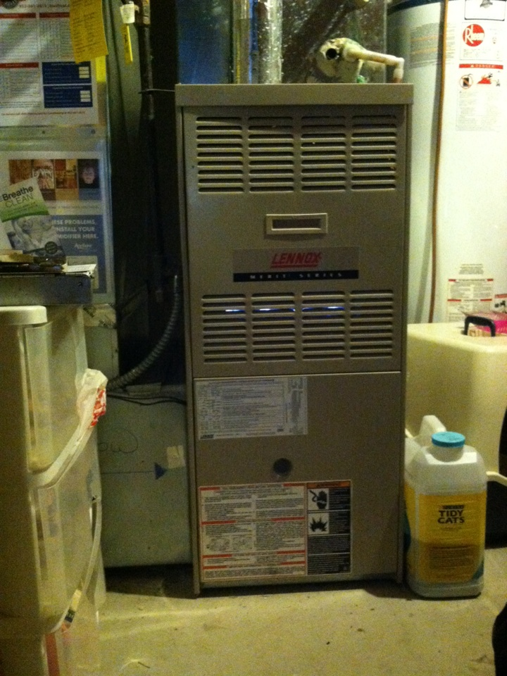 Prior Lake, MN - Heating tuneup on a Lennox furnace