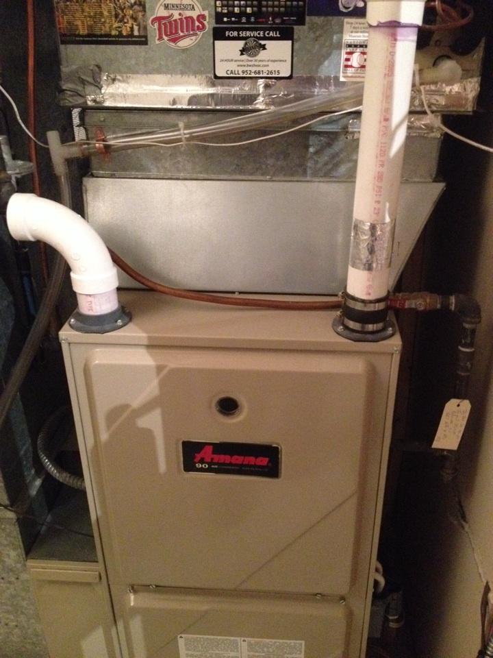 Bloomington, MN - Amana furnace