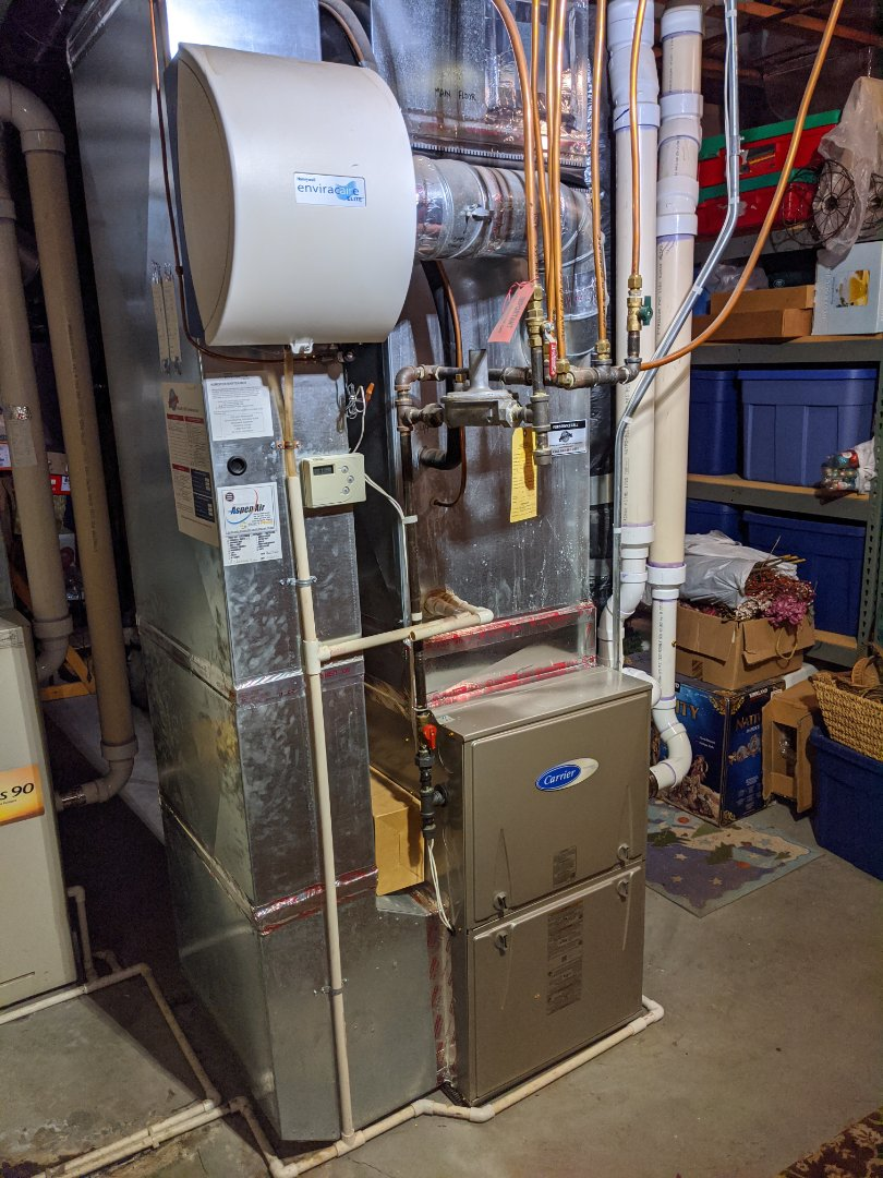 New furnace install