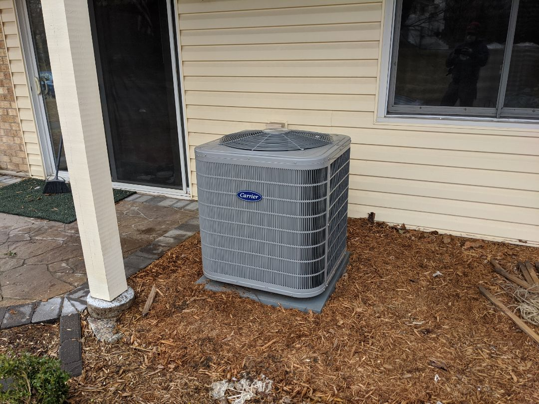 New Carrier AC and Infinity thermostat install