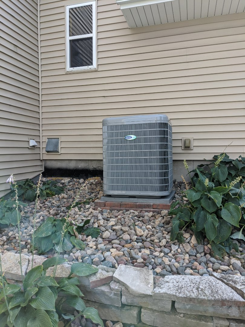 New Carrier Infinity Furnace and AC