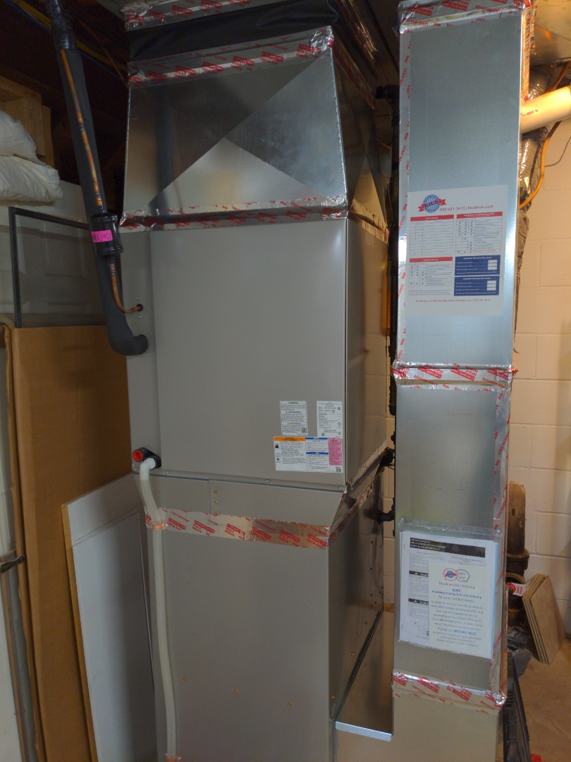 New Carrier furnace and AC install