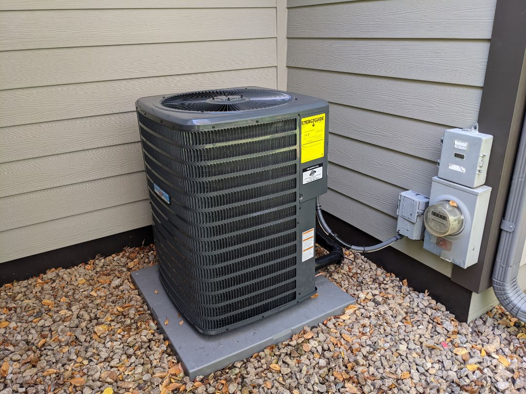 New Furnace & AC install