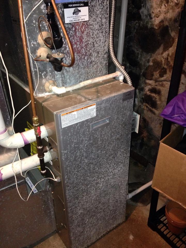Wayzata, MN - Payne furnace tune-up