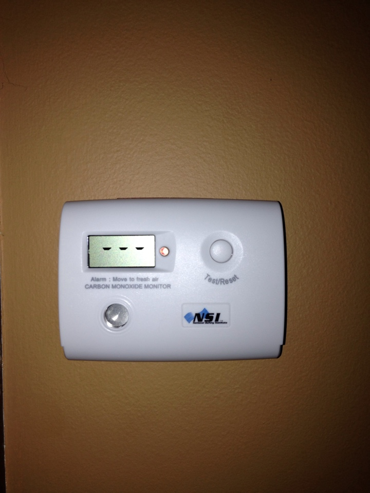 Stillwater, MN - Tune up on an American Standard furnace, and installed 2 CO detectors.