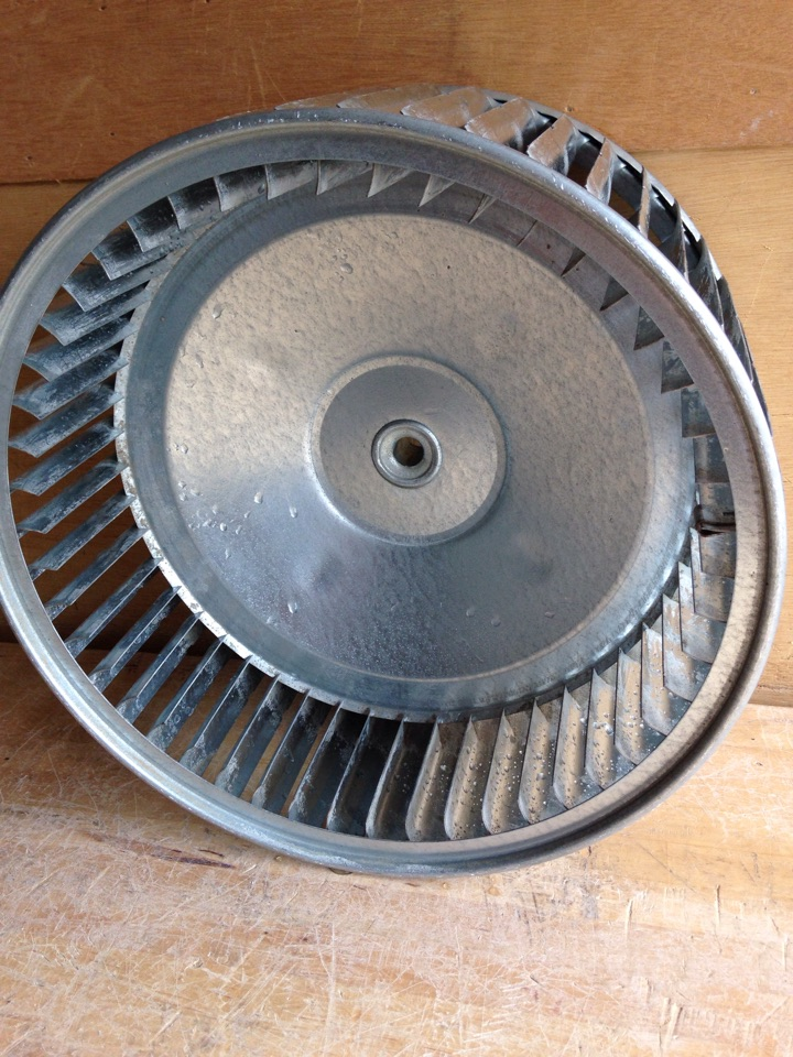 Maple Grove, MN - Cleaned blower wheel, replaced inducer motor, installed co detector and installed return air.