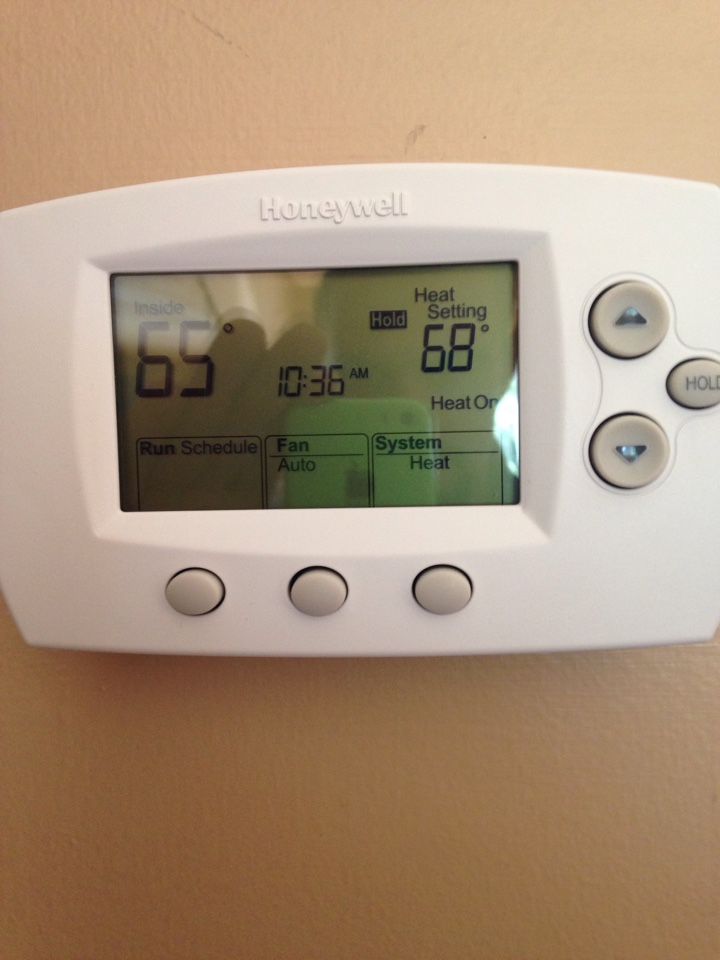 Anoka, MN - Service on a Honeywell thermostat.