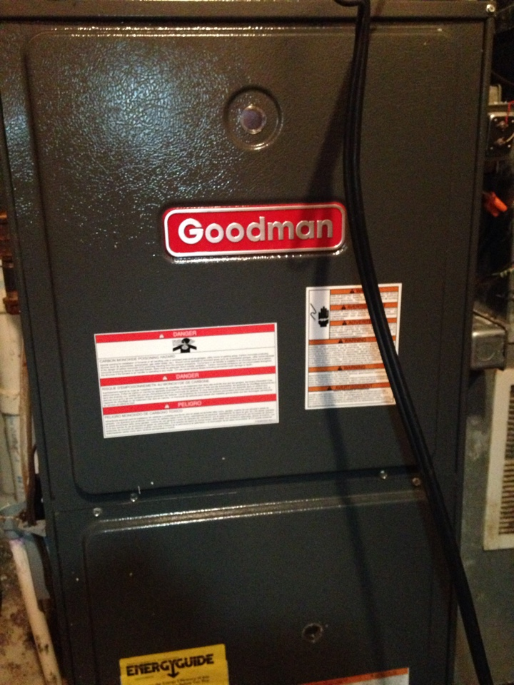Oakdale, MN - Furnace Maintenance, Safety Check, and Tune up on a Goodman furnace.