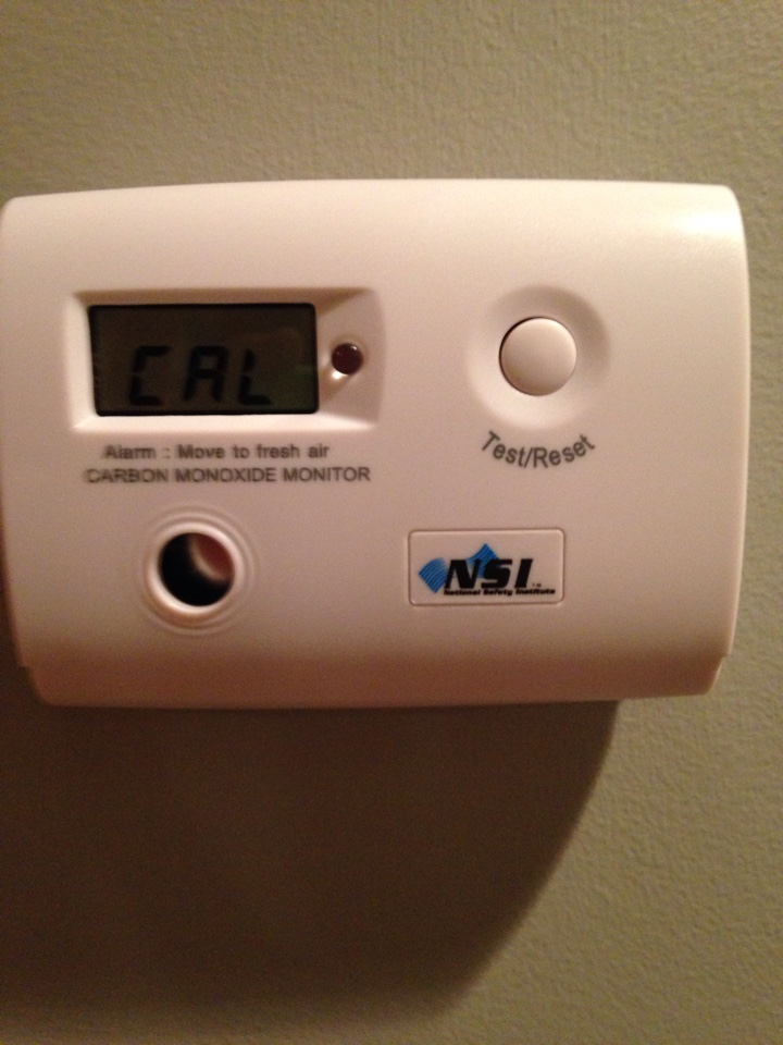 Chanhassen, MN - Heating Maintenance, Safety Check and Tune up on an Amana furnace, and installing 2 low level Carbon Monoxide detectors to insure Safety and Indoor Air Quality.