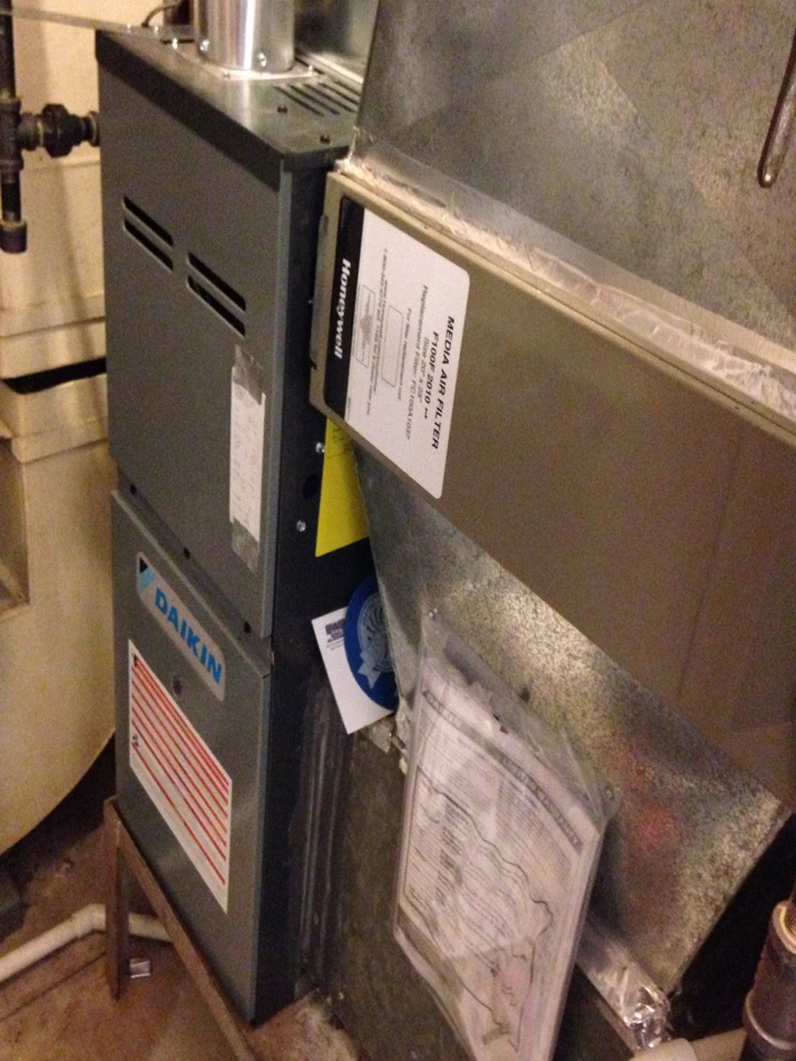 Hopkins, MN - New Daikin furnace install