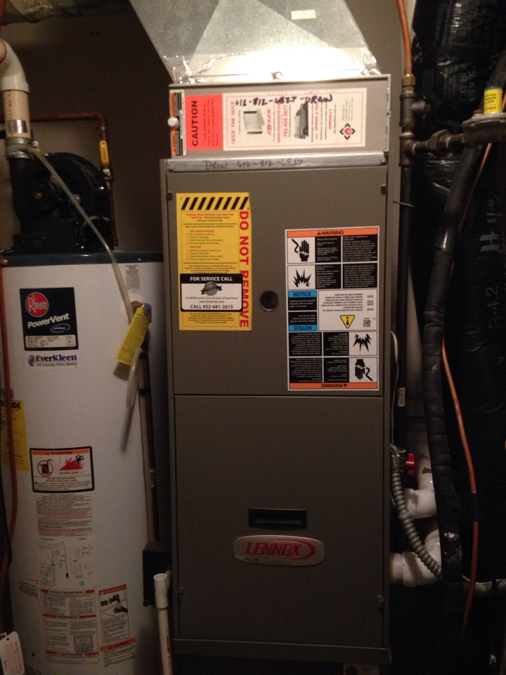 Coon Rapids, MN - Unplugged pressure switch ports on Lennox furnace