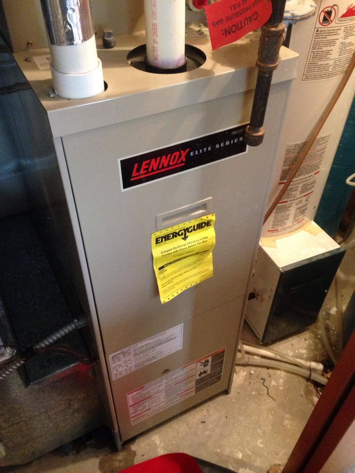 Chaska, MN - Lenox furnace repair.