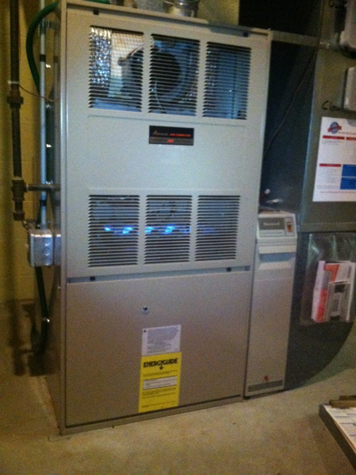 Mendota Heights, MN - Furnace tune up on an Amana furnace