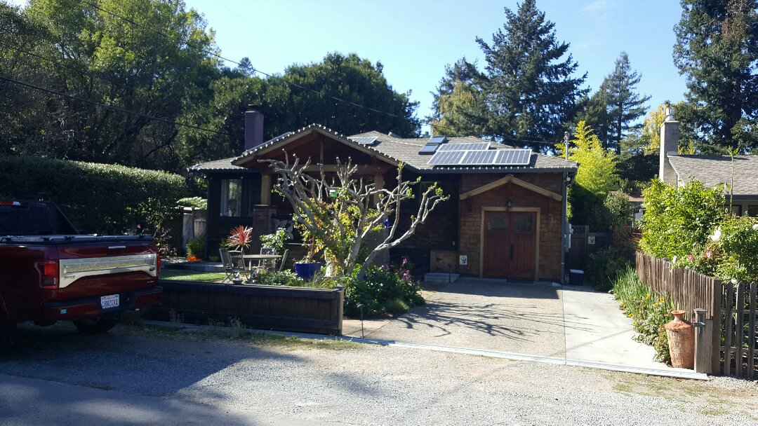 Mill Valley, CA - New roof in Mill Valley on Pines Street.