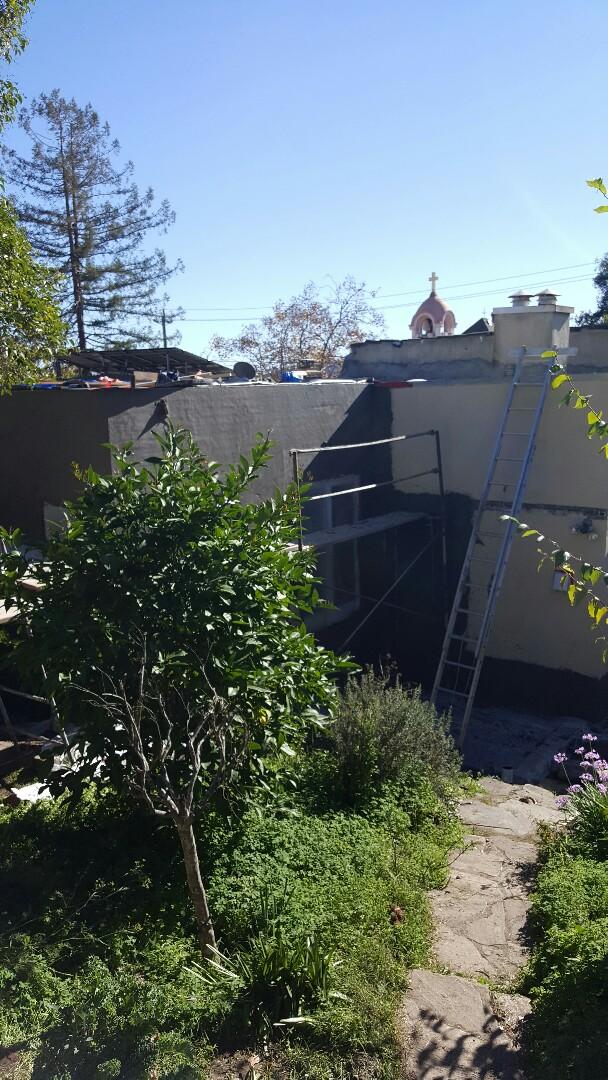 San Rafael, CA - New IB roof 60 mil PVC membrane