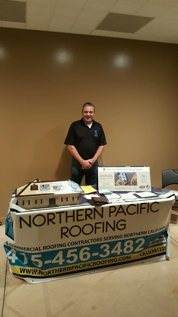 Petaluma, CA - San Francisco Apartment Association Dinner sponsored by Northern Pacific Roofing. Hosted at The JCC in San Francisco.