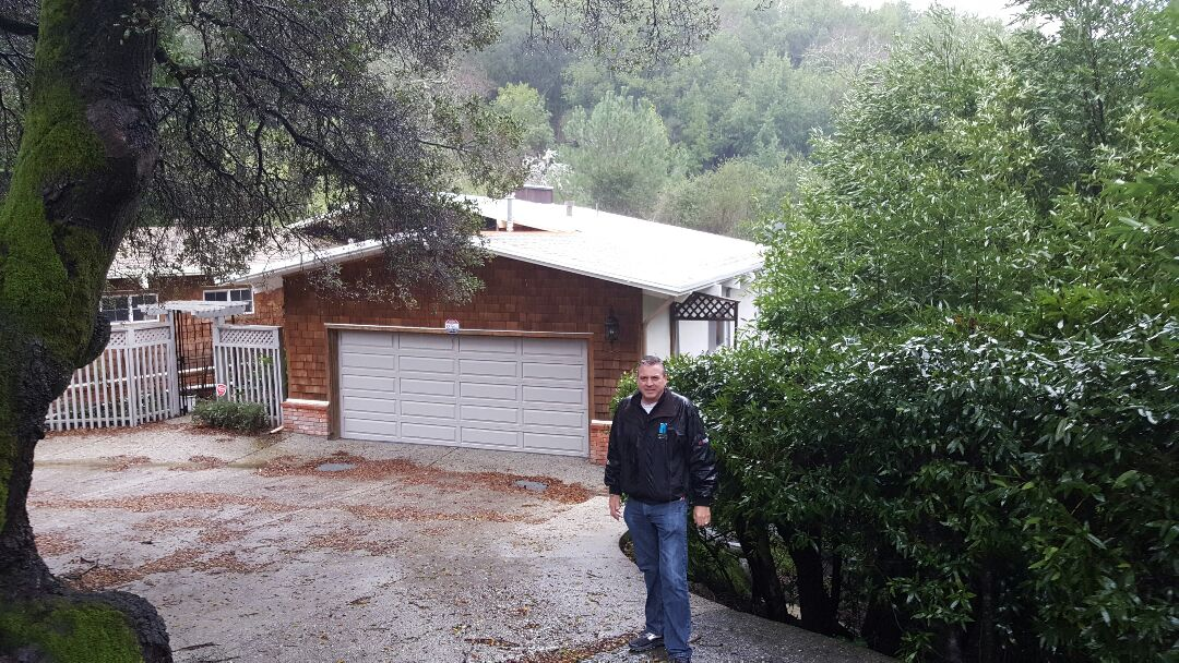 San Anselmo, CA - Rain or shine Northern Pacific Roofing will keep the water out.  Ranch style home in San Anselmo.