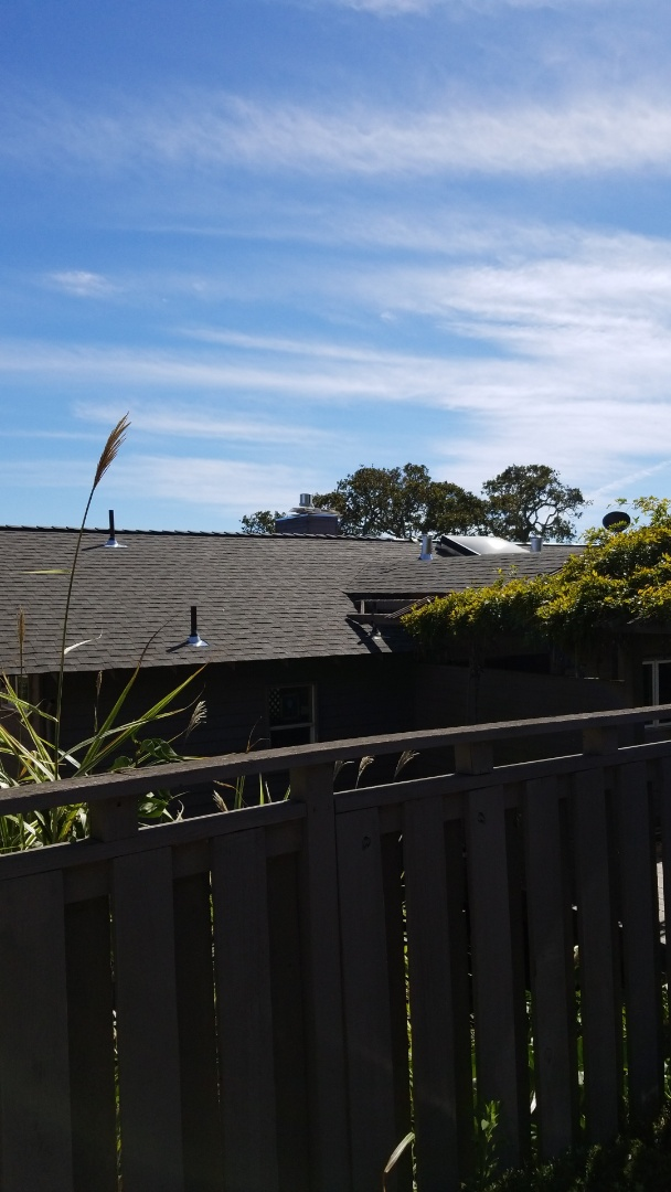 Novato, CA - New GAF reflector series HD shingle in the works with synthetic deck armor underlayment weatherwatch leak barrier system for this bay view home