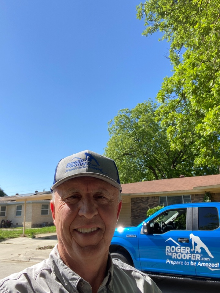 Fort Worth, TX - Roof inspection for investor who wants to buy this house, this is a three tab roof, over 20 years old, completely D granulating holes in the roof turbines need to be replaced no gutters… There you go probably a cash job as I believe this roof probably doesn't even have insurance, on these older roofs a lot of times there's a problem with the decking also, if it's covered by insurance you can look into your policy and see if you have a code upgrade clause, many times you can get it reject