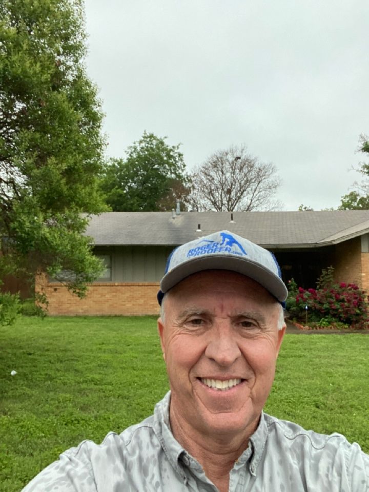 Fort Worth, TX - Roof inspection in the rain, generally not advisable, but this roof was not Steve, this poor lady called me last night with a big leak and it wasn't actually from the roof it was her AC unit… She got that fixed and said please come look at my roof… Her roof is 15 years old it is trashed she's filing a claim and we will get her a new roof and gutters… Got a love the roofing business
