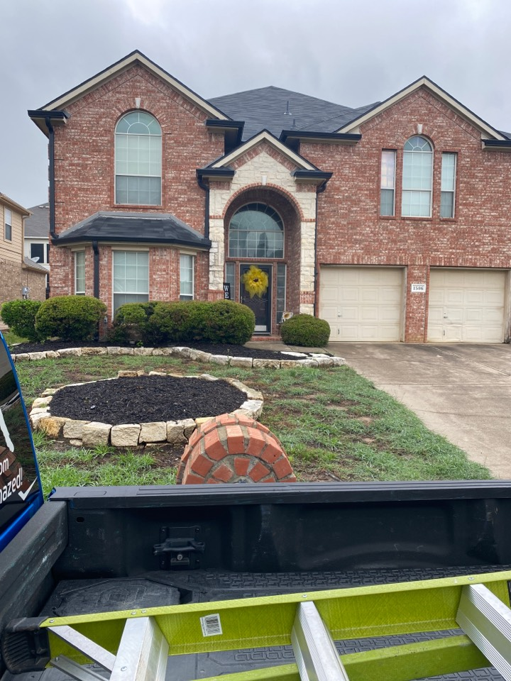 Mansfield, TX - Customer had a concern about a leak from previous roof install… I came out and did a moisture and temperature check… It turns out the leak was an old leak not current… Got a love the roofing business