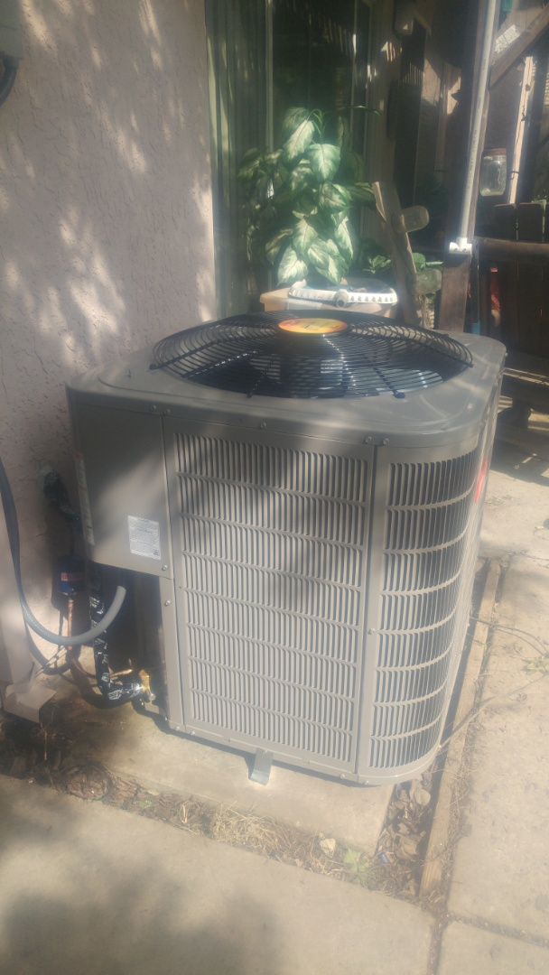 Roseville, CA - Air conditioner installation, furnace installation.