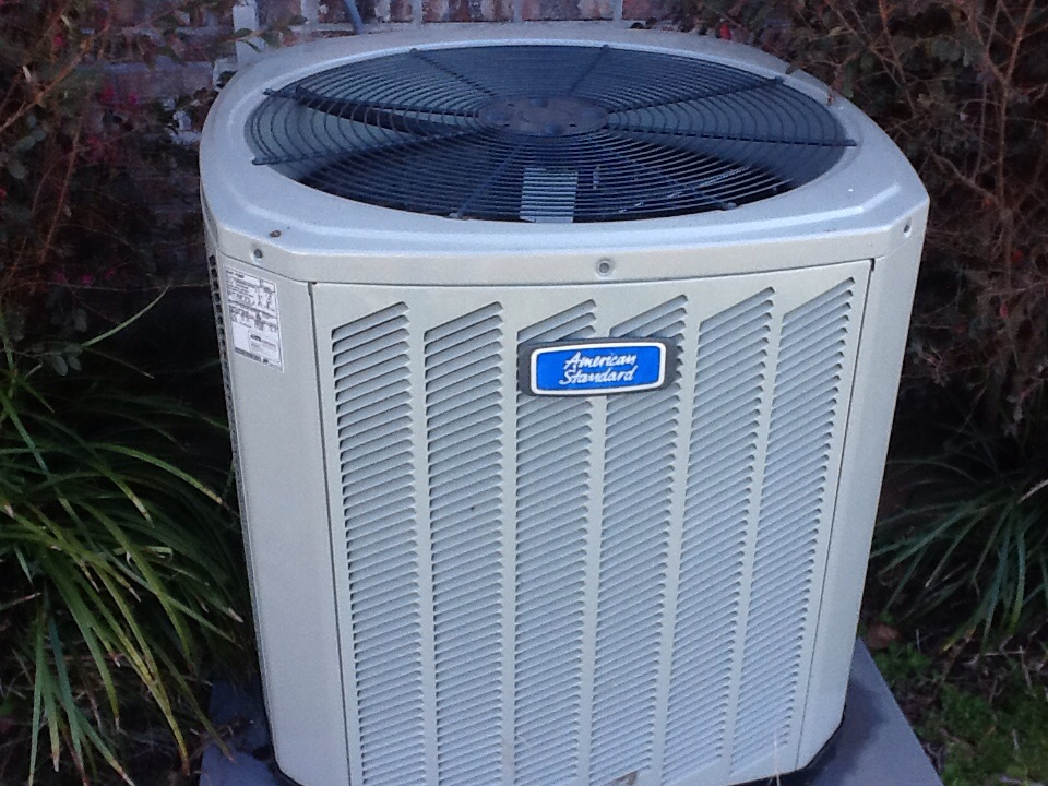 Tallahassee, FL - Preformed maintenace on a American Standard airconditioner in Tallahassee Florida by Bensons HVAC