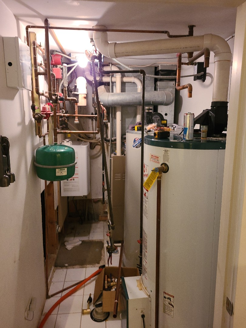 Called for boiler and water heater replacements