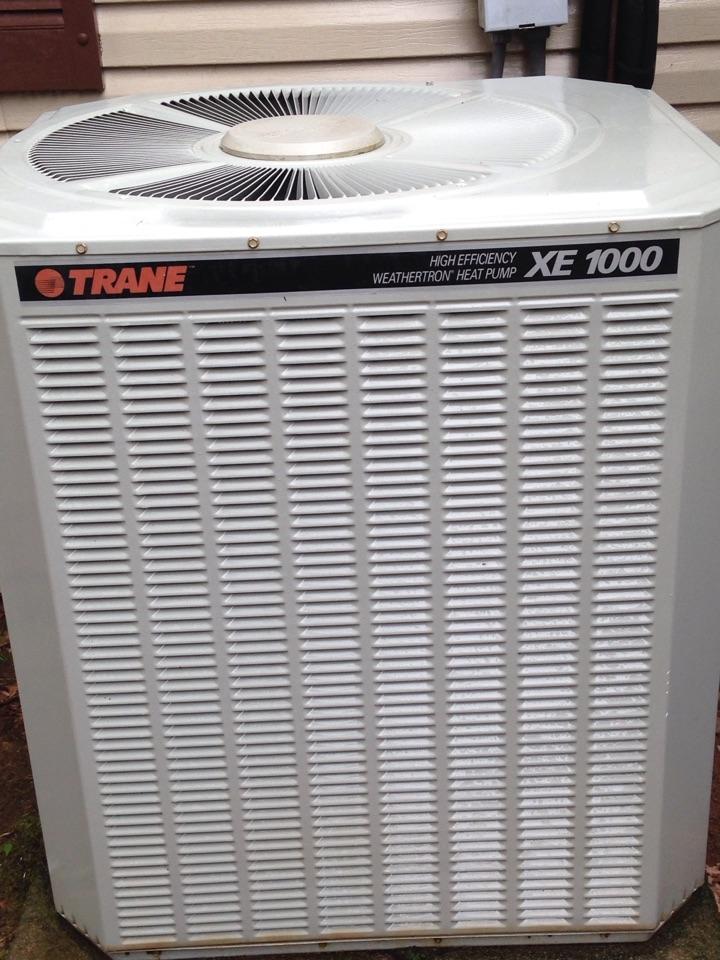 Rogersville, AL - Perform heating tune up on Trane Heat Pump