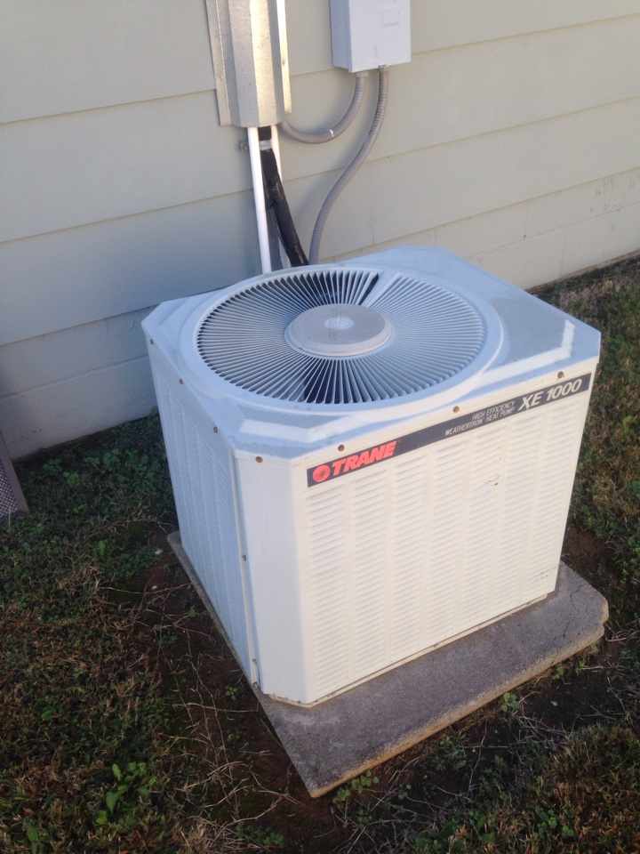 Decatur, AL - Annual maintenance on a trane split system