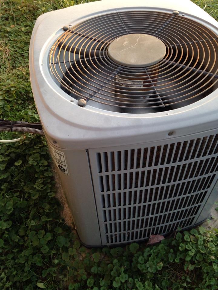 Lexington, AL - Perform heat repair on American Standard heat pump