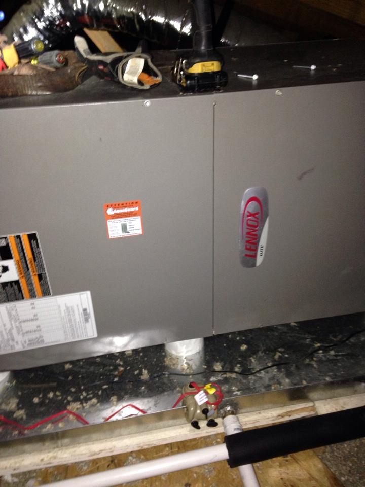 Rogersville, AL - Replace blower motor on Lennox heat pump