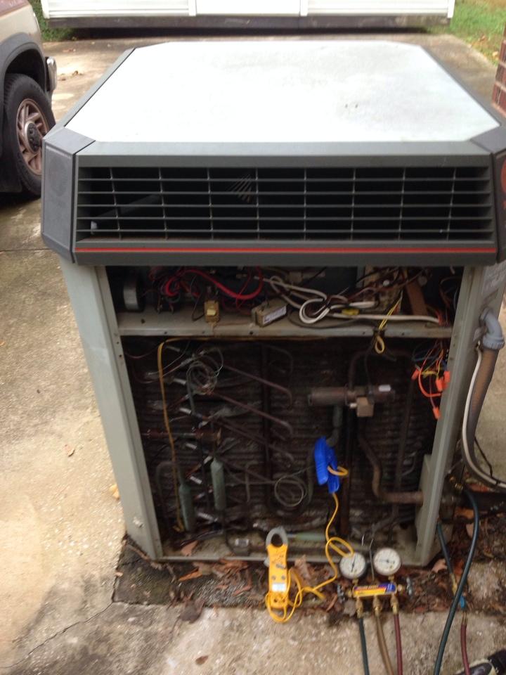Loretto, TN - No heat on Trane split heat pump