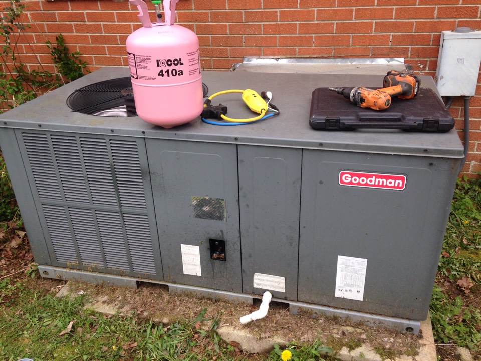 Saint Joseph, TN - No cooling call on a Goodman package heatpump.