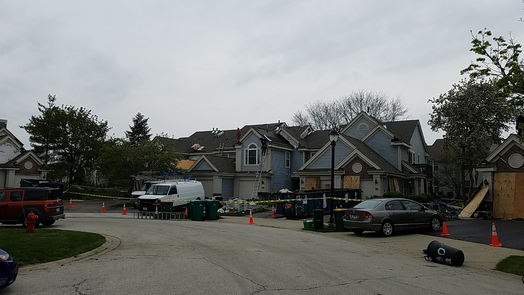 Elk Grove Village, IL - New roof and siding