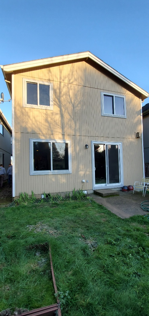 Portland, OR - We installed 3 windows and Patio Door in Vancouver. It is very good place.