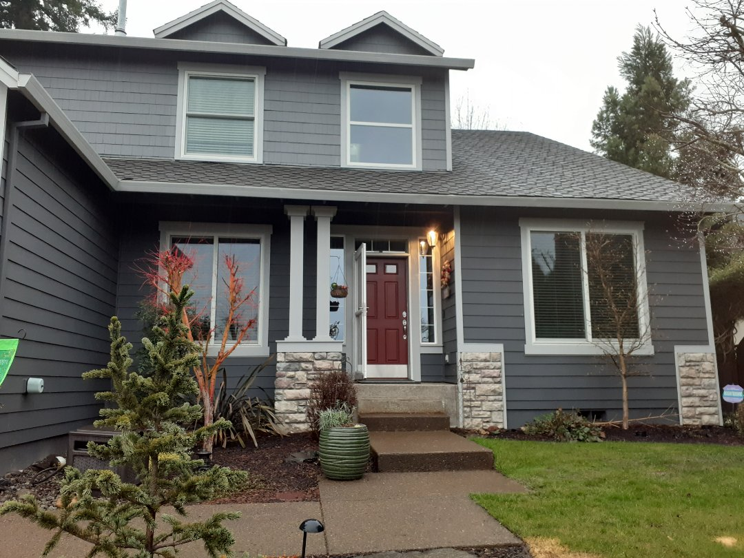 Happy Valley, OR - Replaced all windows on  this  beautiful house.