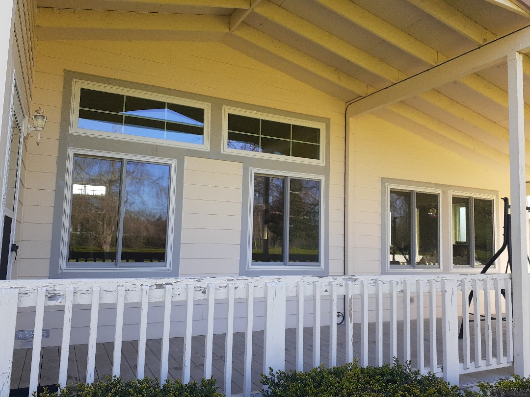 Cottage Grove, OR - Just finished reinstalling 14 brand new windows on this cottage grove home.