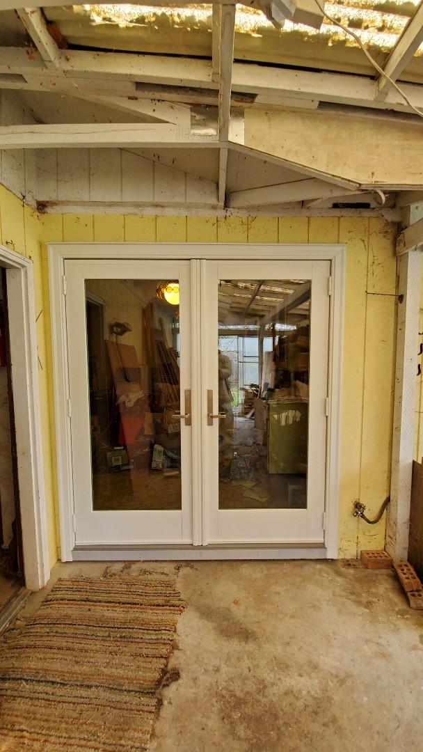 Installed a door for customer